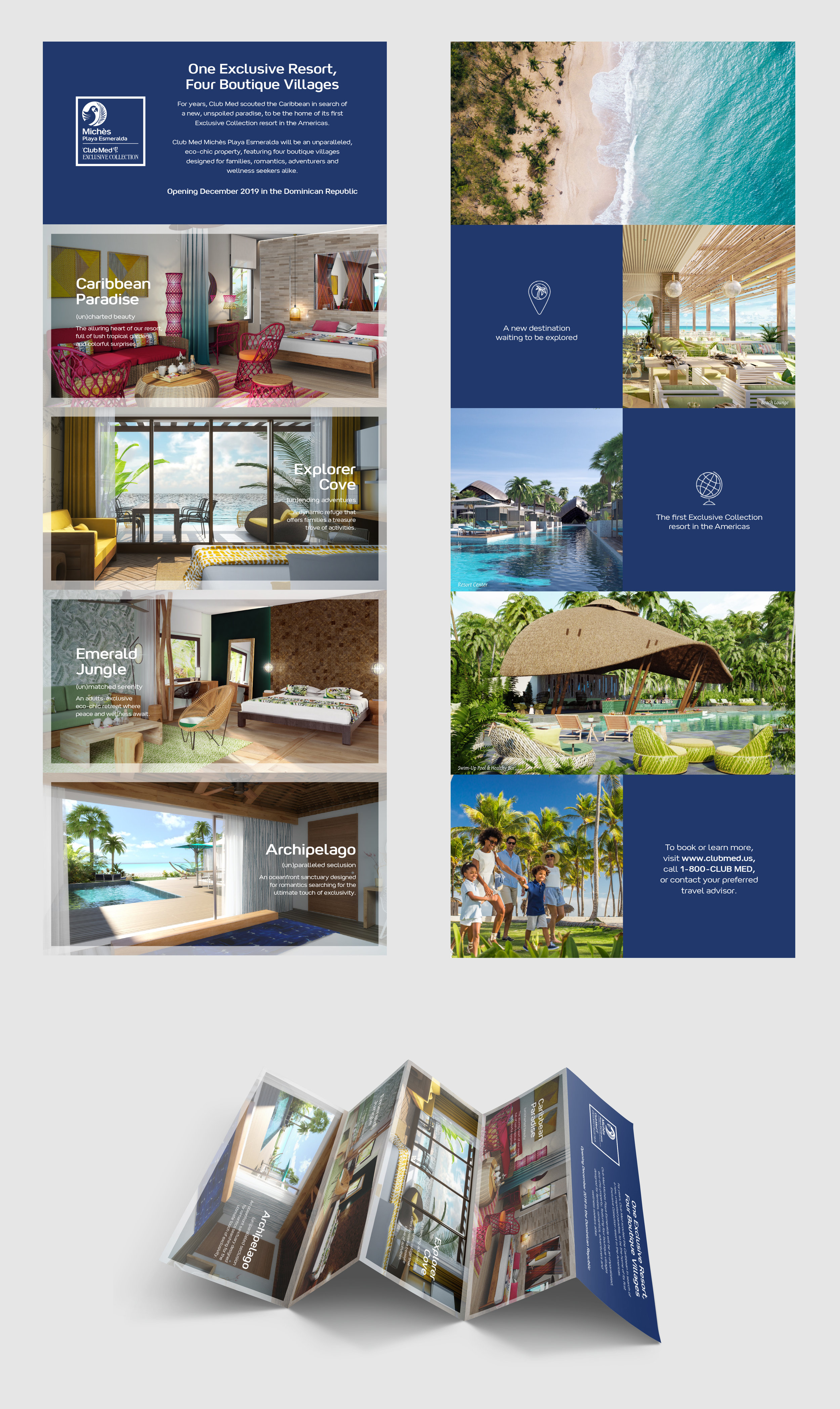 Michès 5-panel Fold Brochure