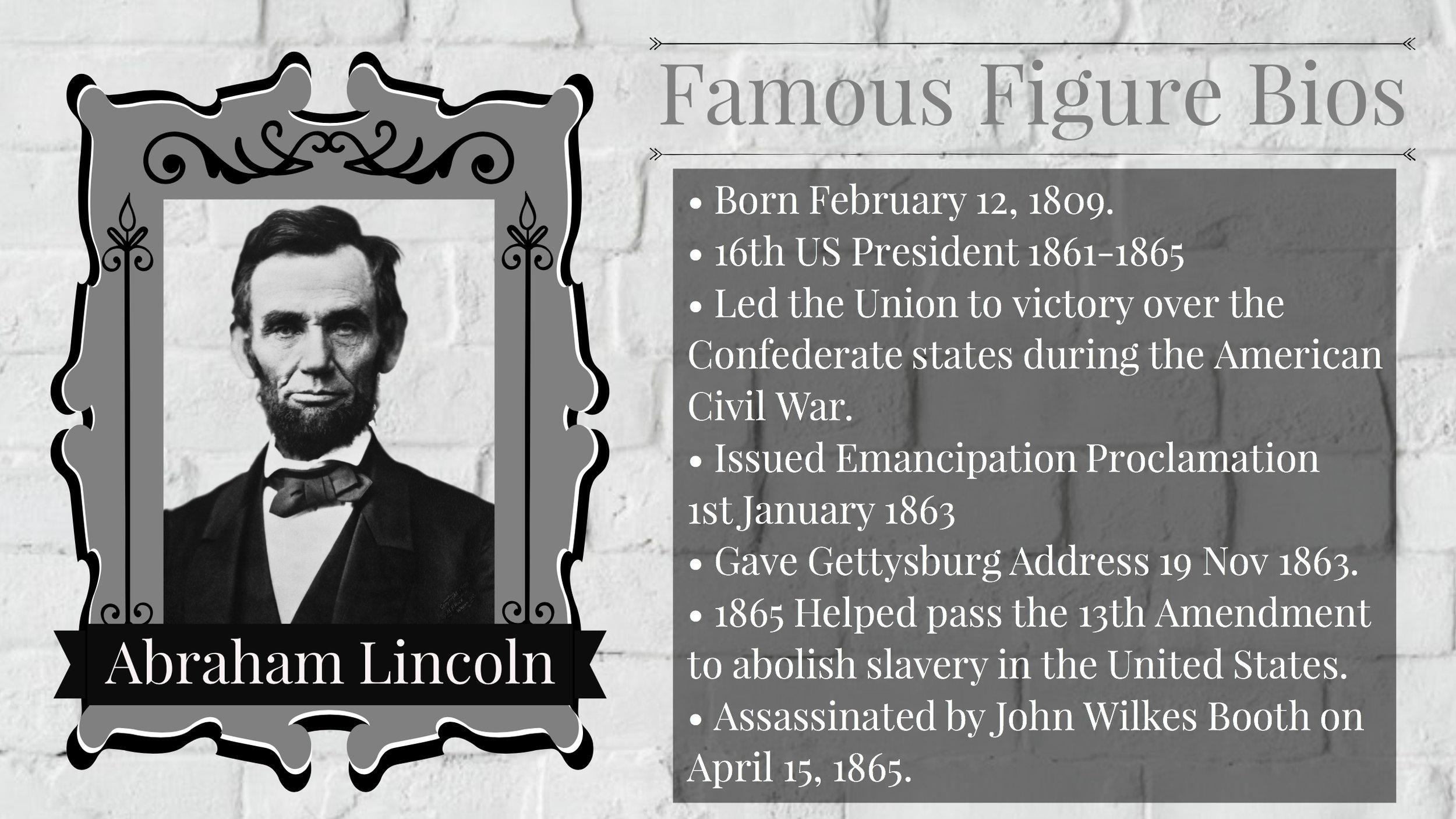 famous figure bio