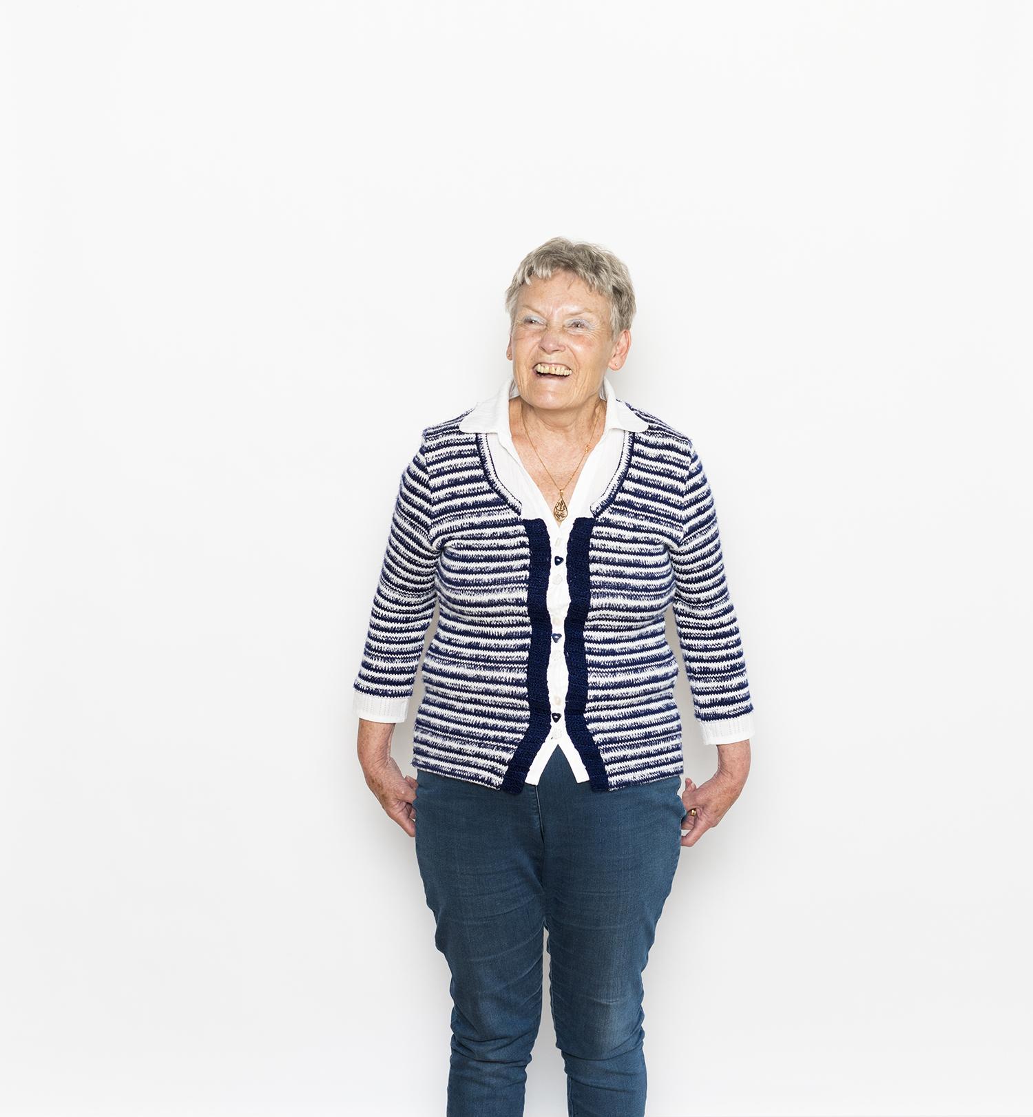 Margaret McCullum. Photo: Steven Pocock/Wellcome Collection