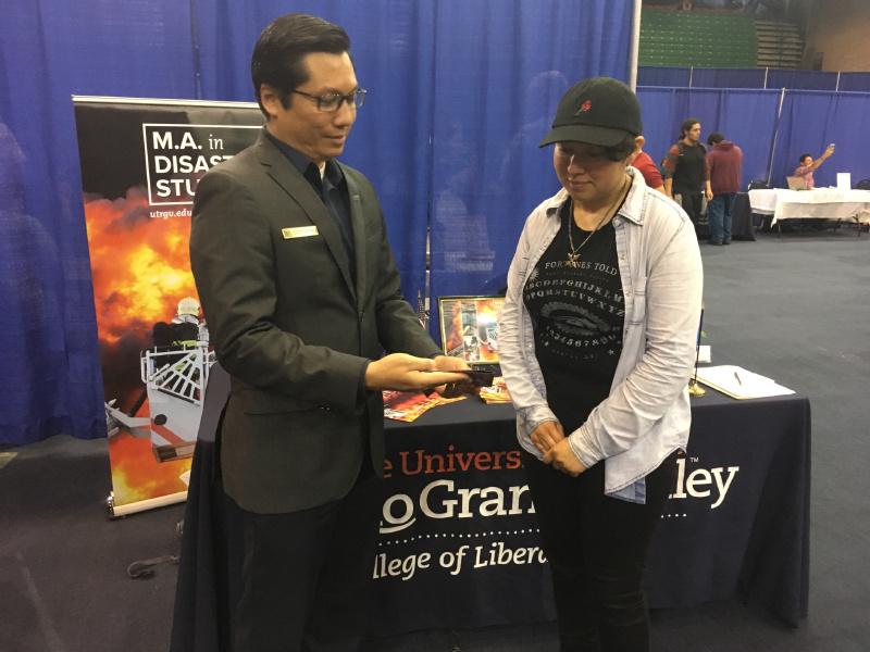Dean Kyne Graduate Fair UTRGV 1.JPG