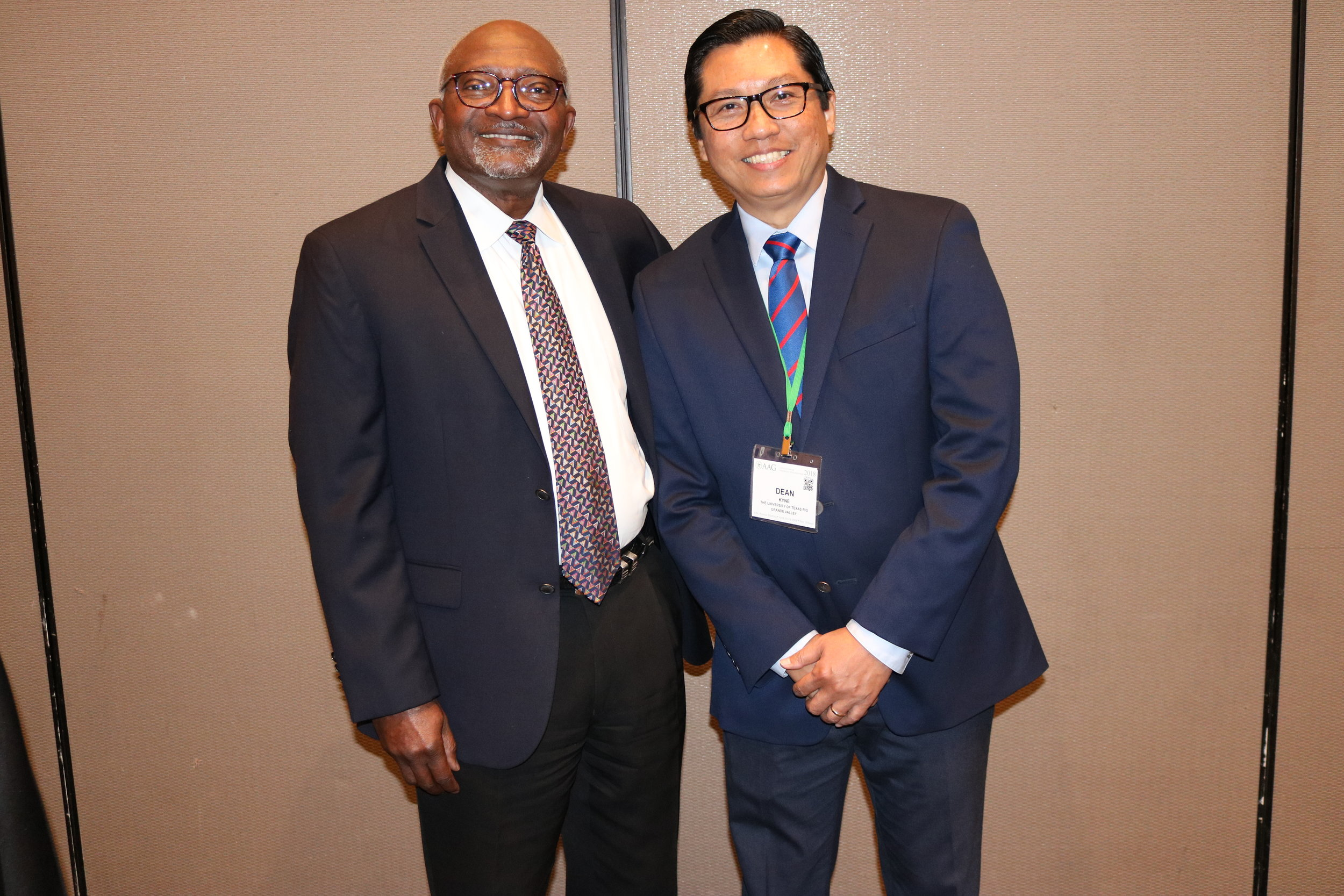 It is a great honor and pleasure to meet Dr. Robert D. Bullard, Father of Environmental Justice at the AAG Annual Meeting 2018.