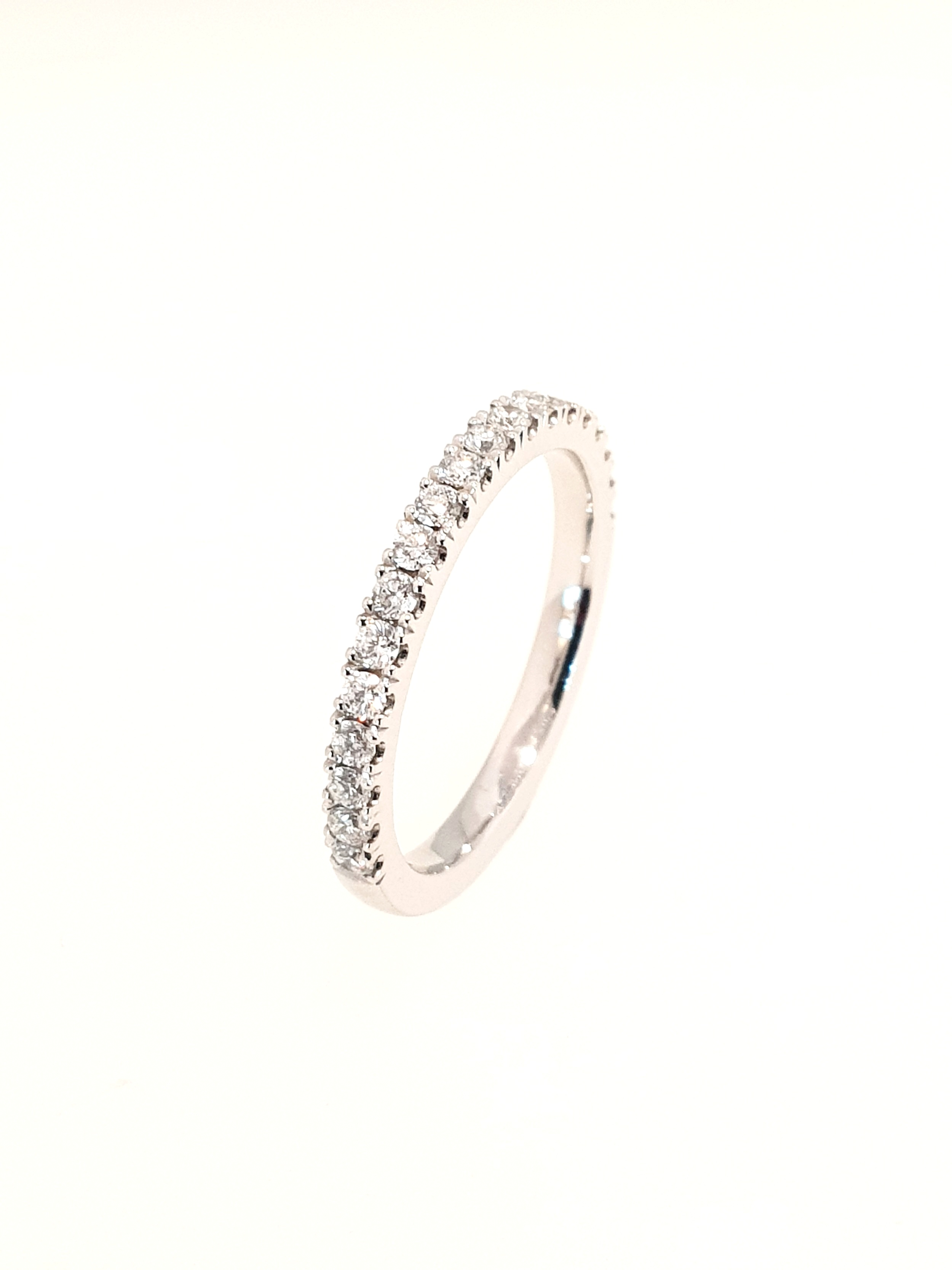 Platinum Eternity Ring  .40ct, F, SI1  Stock Code: N8898  £2100