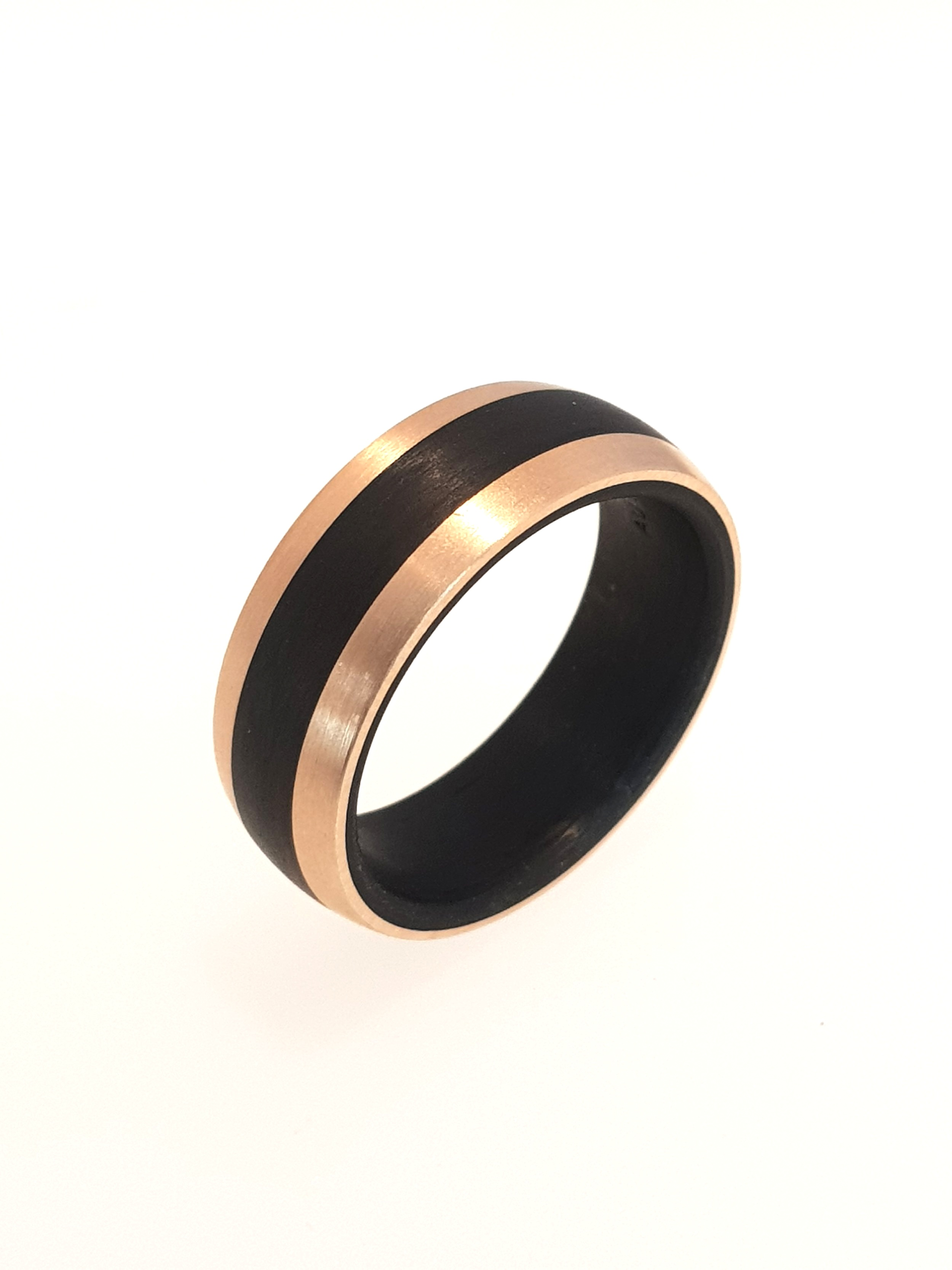 Carbon Fibre Ring, 8mm Band    Titan Factory (Model: 59319/003/000/N556)   Current Stock Size: U  Stock Code: E9828  £560