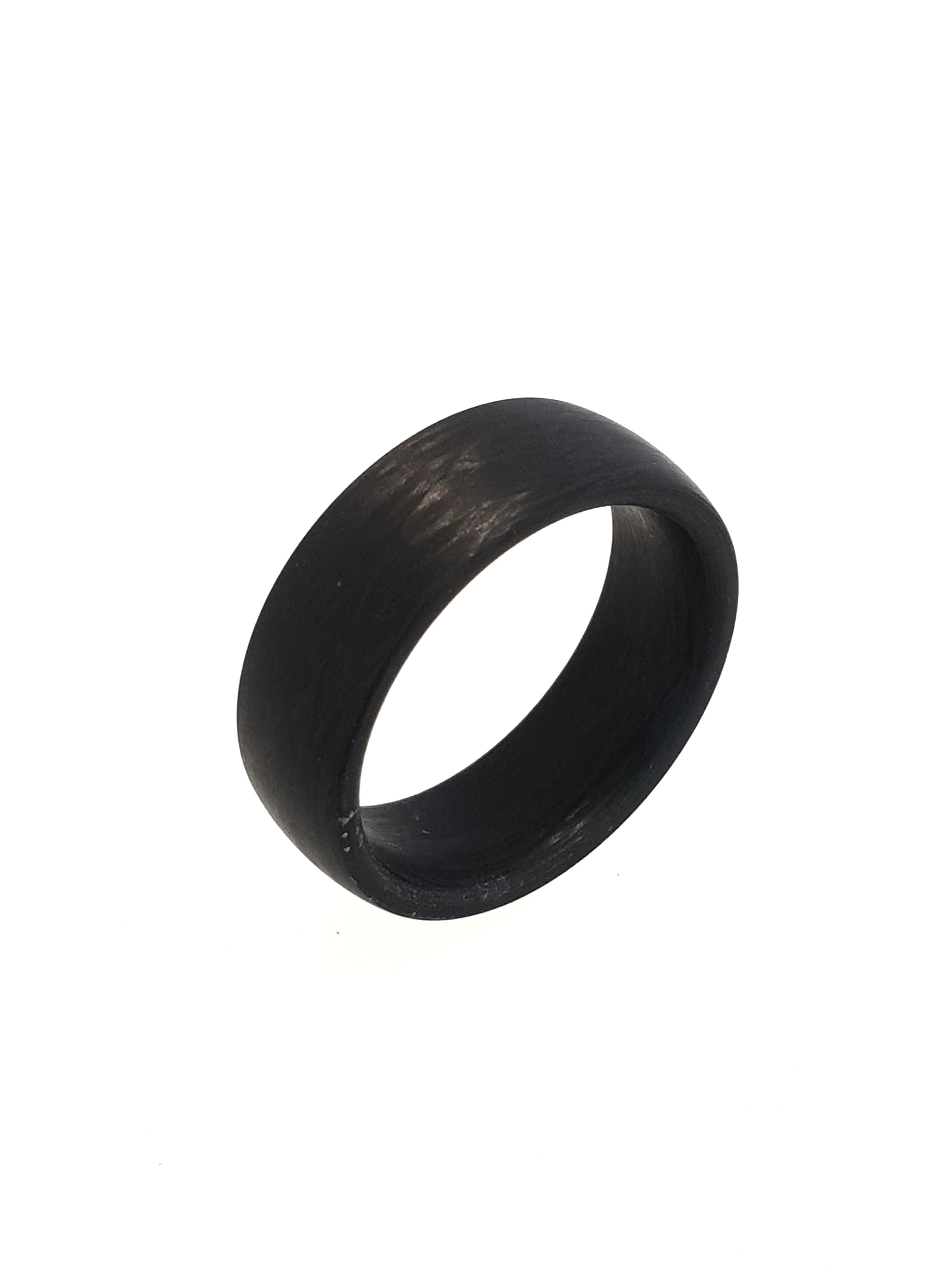 Carbon Fibre Ring, 8mm    Titan Factory (Model: 59289/002/000/N000)   Current Stock Size: Y 1/2  Stock Code: E9841  £80