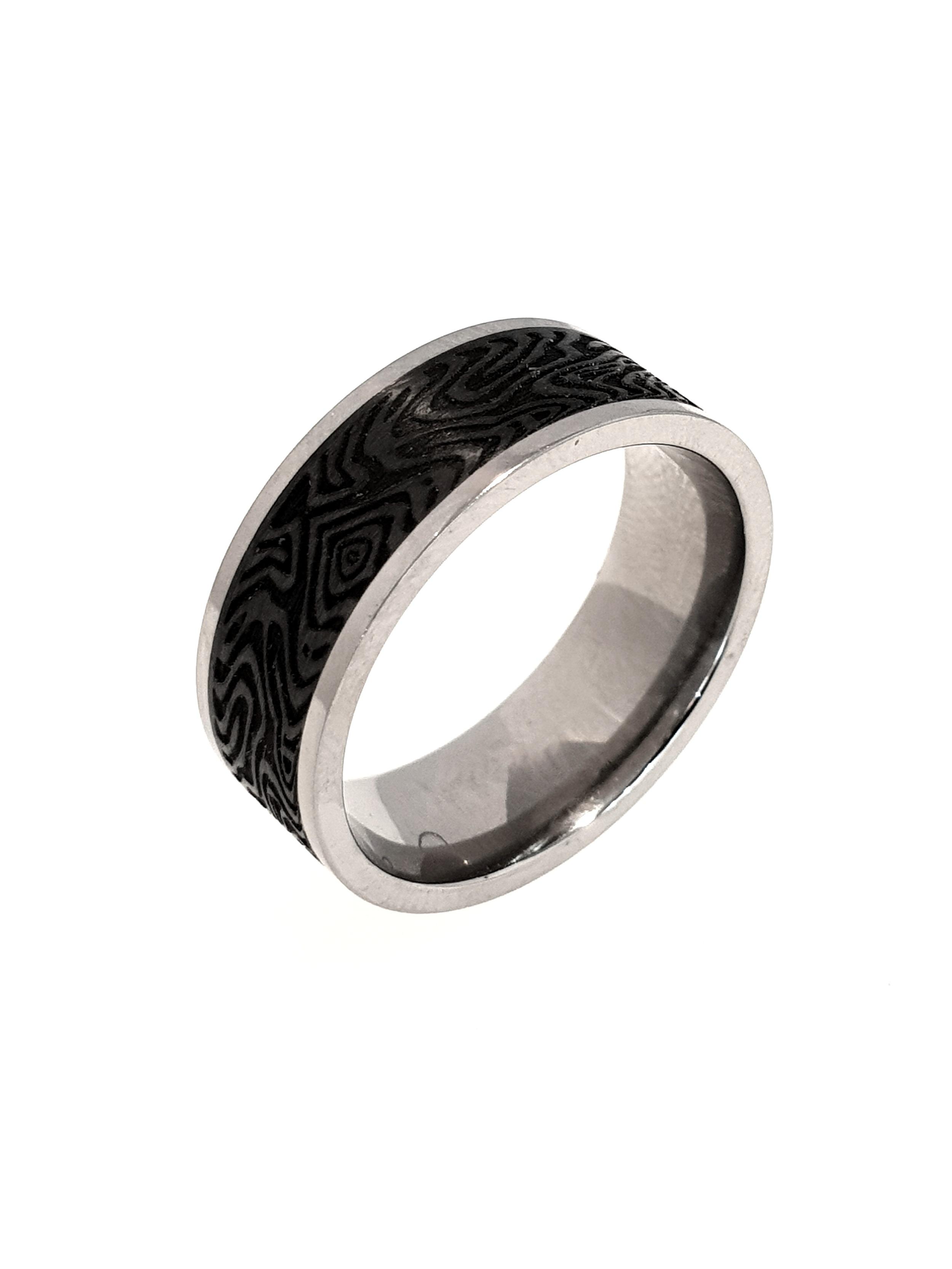 Carbon Fibre & Titanium Ring    Titan Factory (Model: 52463/000/000/2050)   Current Stock Size: T  Stock Code: E9811  £140
