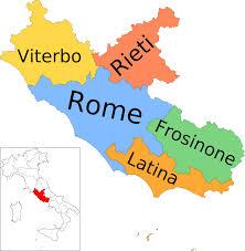 Provinces in Lazio