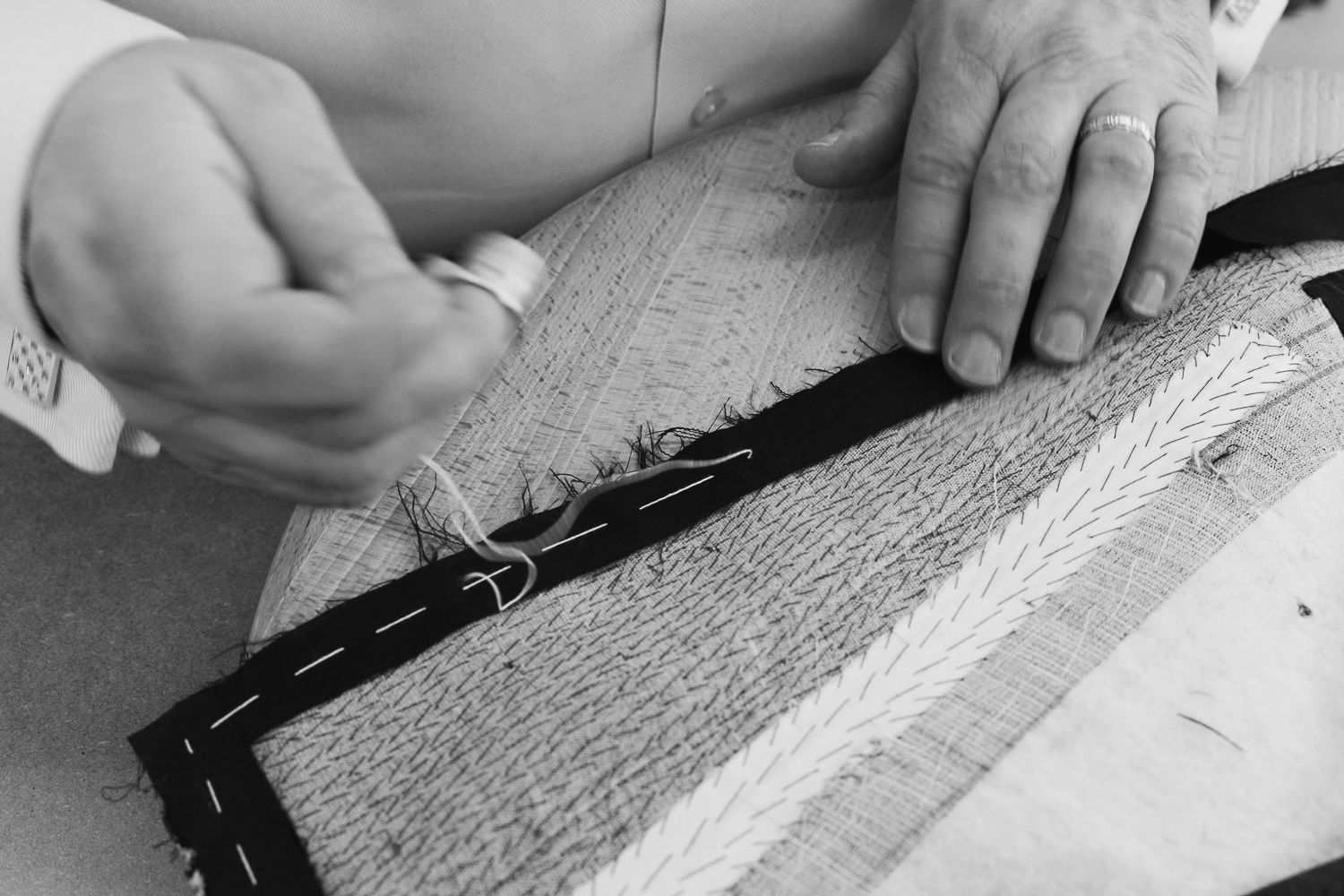 Hand tacked horse hair canvas Paul Henry Tailoring .jpg