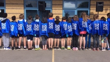 Pupils at St Bonaventure's gear up for their Run for H2O