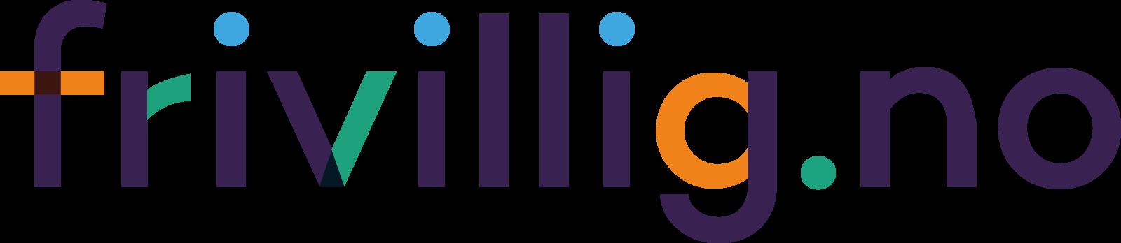 Logo Frivillig.no i farger til skjerm