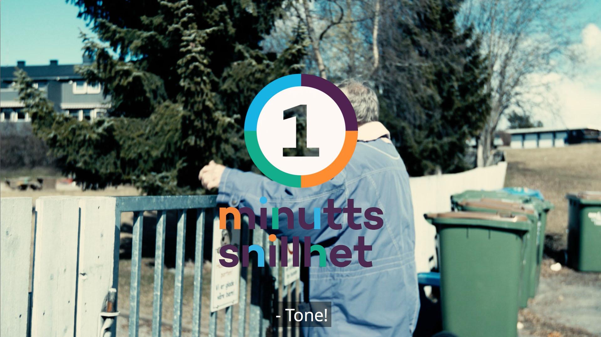 Ett minutt snillhet - En serie filmer om følelsen av frivillig innsats.
