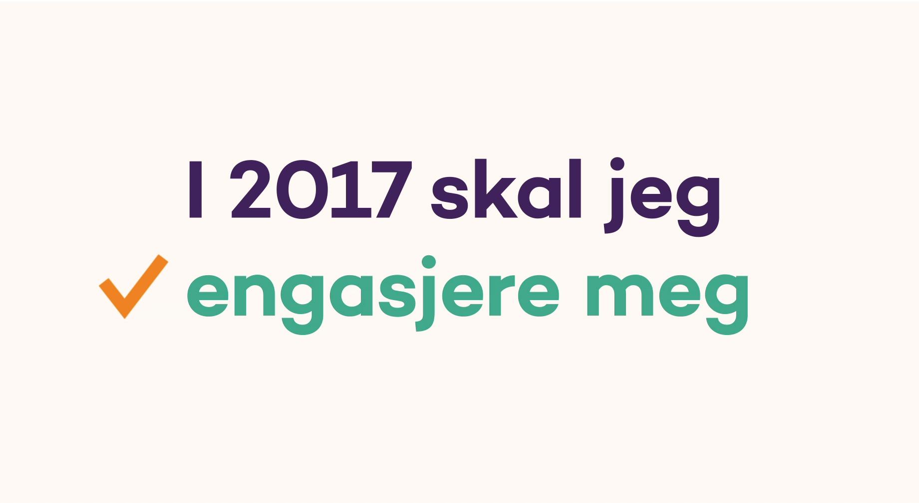 Nyttårsforsett - Nyttårskampanje 2017