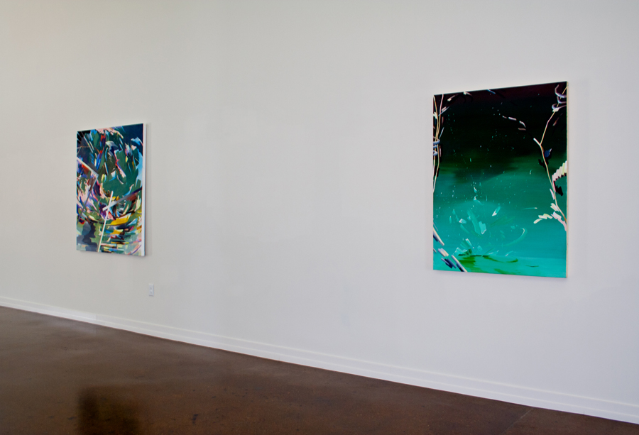 Re: Surface,  2014 solo show, Zeitgeist Gallery, Nashville, TN