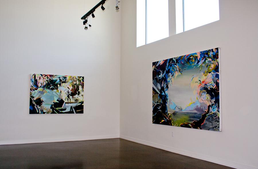 Re: Surface, 2014 solo show, Zeitgeist Gallery, Nashville, TN
