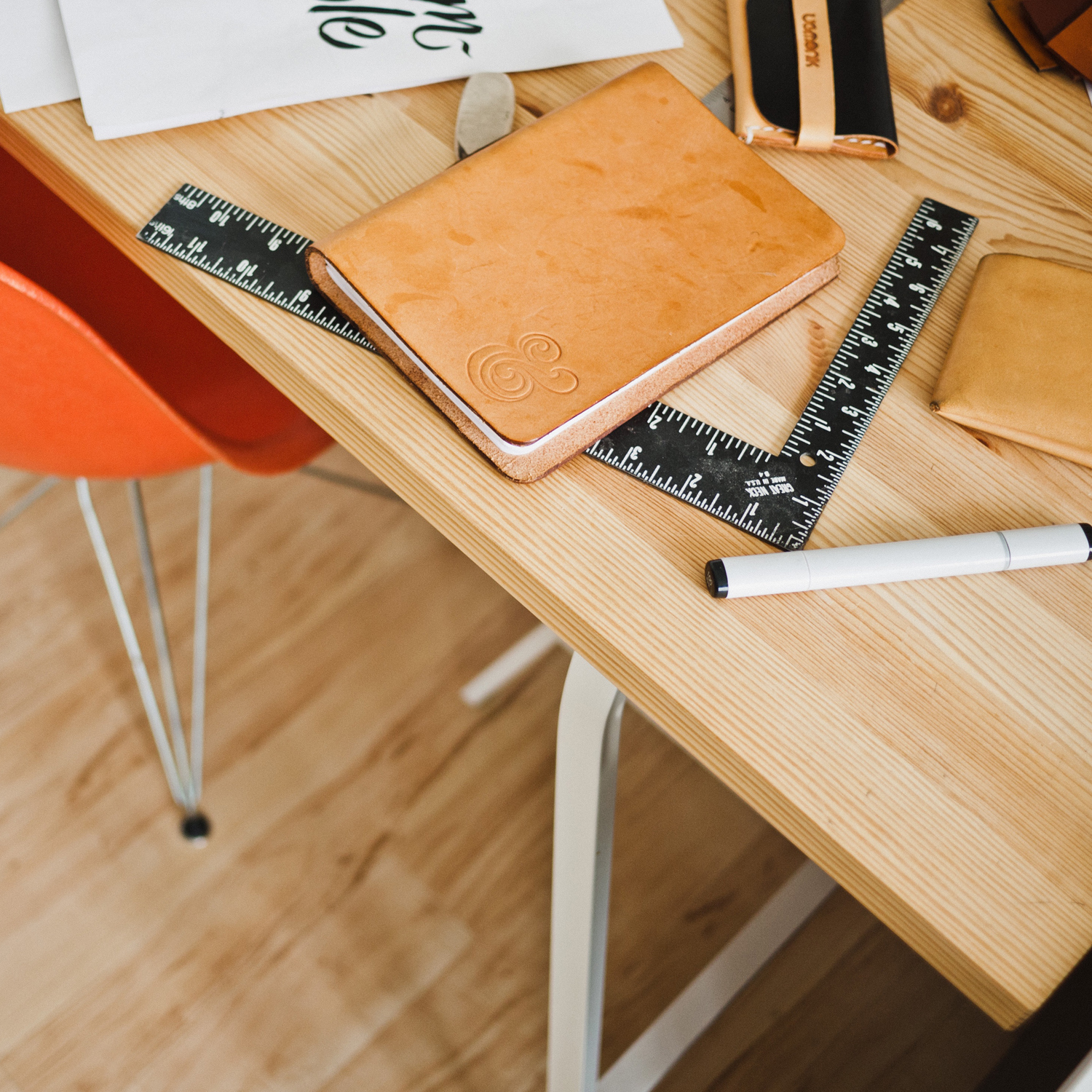 Remove clutter from your desk to boost your creativity and productivity.