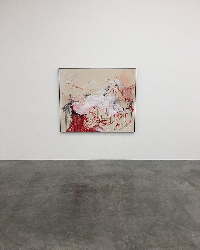 'Rape' 2018 Acrylic on canvas  The visceral and articulate paintings of Tracey Emin, exploring the joy and suffering intrinsic to the human existence and often thrusting upon us the haunting expressions of physical trauma, sexual relationships and emotional turmoil through gestural figuration.  A privilege to see the work of Tracey Emin on display at the White Cube