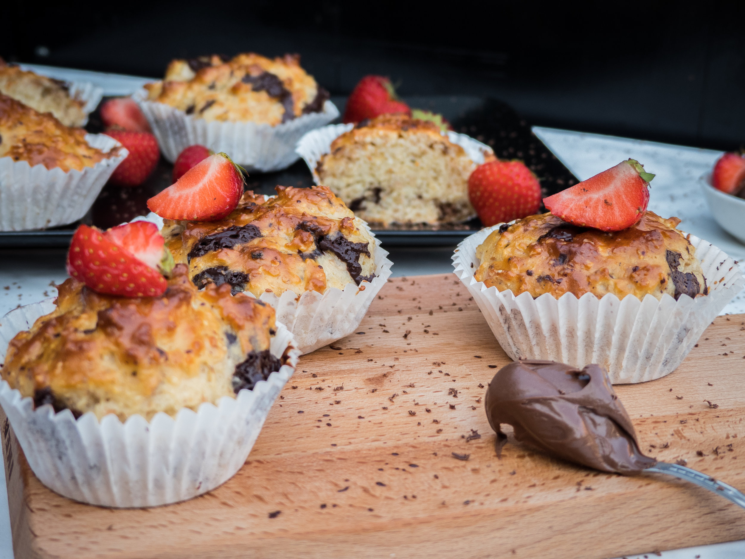 Vanilla, chocolate, coco and strawberry cupcakes1.jpg