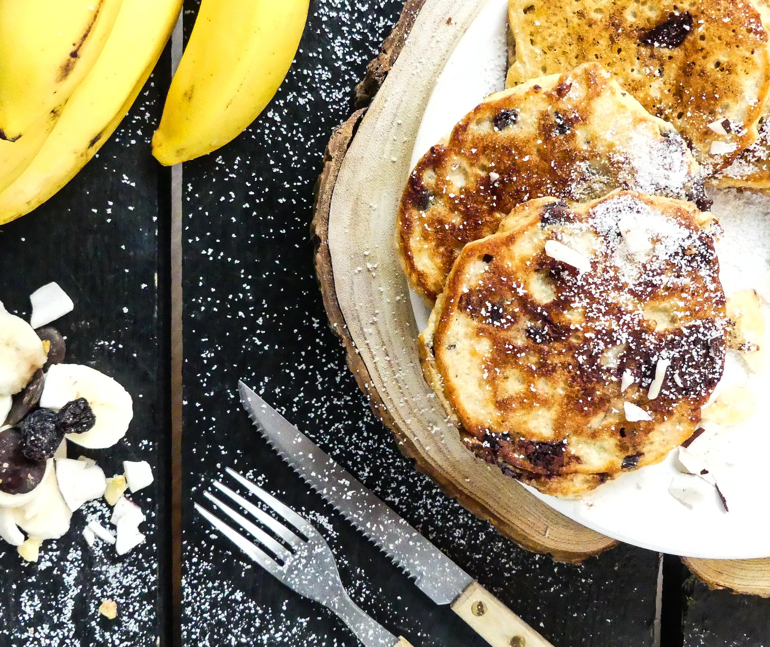 Choco Choco Banana Coconut Pancakes4.jpg