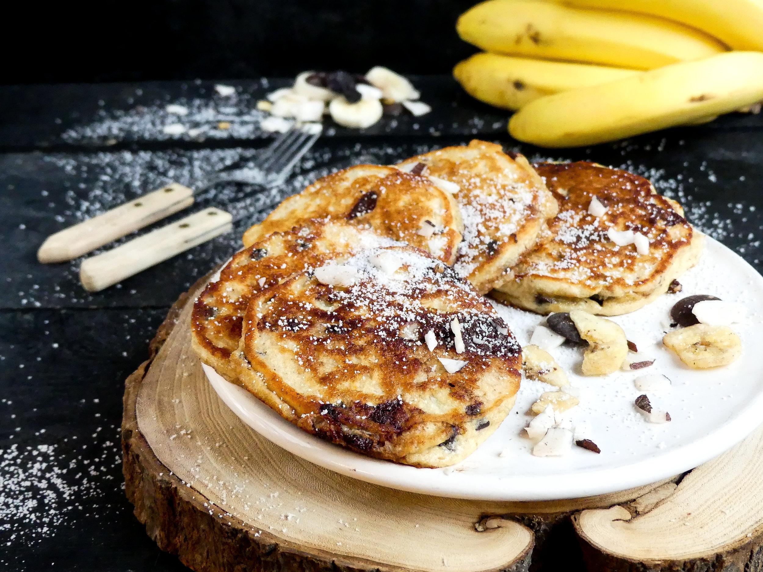 Choco Choco Banana Coconut Pancakes8.jpg