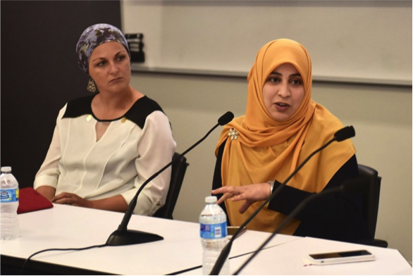 A panel discussion at USC explores religious literacy as acounter to Islamophobia — Photo: dailytrojan.com