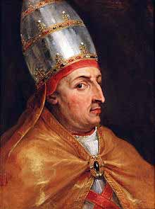 """In 1452, Pope Nicholas V signed """"Dum Diversas,"""" the first of several papal bulls (decrees) giving Portugal and later Spain 'legal' permission to """"attack, conquer, and subjugate Saracens, Pagans and other enemies of Christ wherever they may be found."""""""