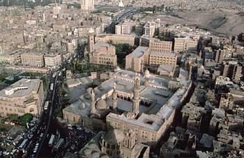 Al Azhar University in Cairo, Egypt