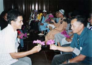 Christian-Muslim friendship-making in Tala.
