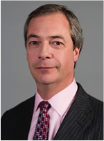 Nigel Farage, leader of the anti-EU UKIP party. – Photo: Wikipedia