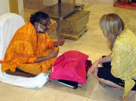 The North American Interfaith Network (NAIN) gathering in Phoenix, Arizona, last July included a visit to a Hindu temple where a meal was shared along with questions, stories, and new friendships, all depending on everyone listening very carefully to each other.