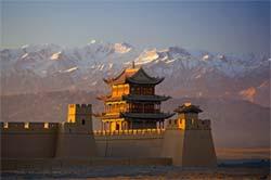 Chang'an, on the China Silk Road. PHOTO: Suny Fredonia