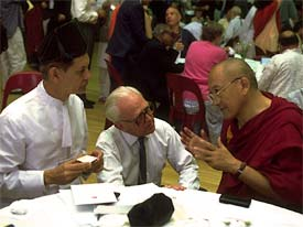 Three religions, one conversation. Photo: CPWR