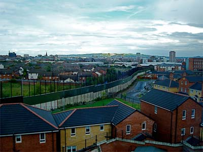 Third Prize:  Belfast Wall  by Leigh Lilly, United States of America