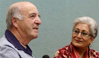 Stan McKay and Raheel Raza