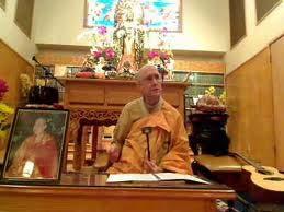 Rev. Heng Sure speaking about the Avatamsaka Sutra at the Berkeley Buddhist Monastery.