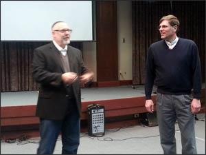 Rabbi Rami Shapiro and Rev. Tim Miner