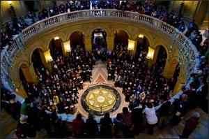 Interreligious lobbyists in Minnesota's State Capital