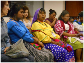Indigenous women share their stories. – Photo: RBS