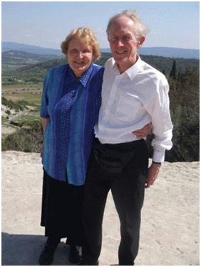 Mary and Marcus Braybrooke on vacation last summer.