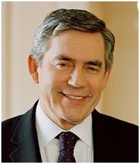 Gordan Brown  – Photo: Wikipedia
