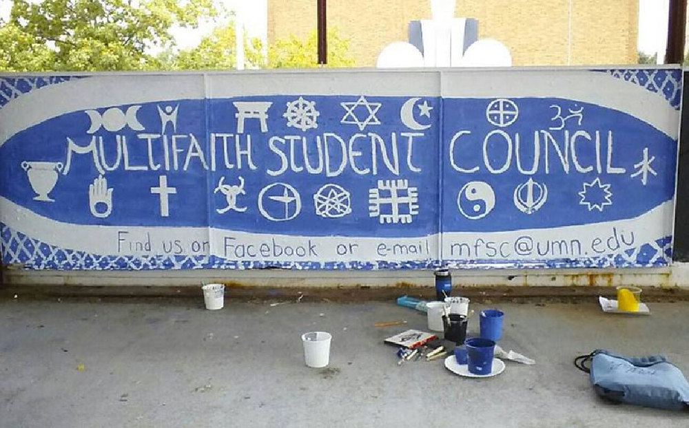 Multi-Faith Student Council at the University of Minnesota banner – Photo:  umnmfsc.com