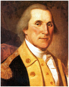 """George Washington"" by Charles Willson Peale"