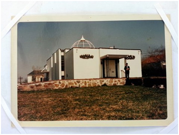 The mosque in Quincy, Massachusetts where Shareda grew up and where she was eventually voted into leadership.