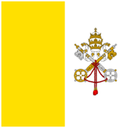 The flag of the Vatican City State – Photo: Wikipedia