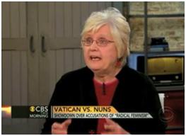Maureen Fiedler being interviewed on Good Morning America – Photo: CBS
