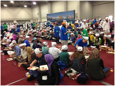 Langar at the Parliament in Salt Lake City            – Photo: Twitter