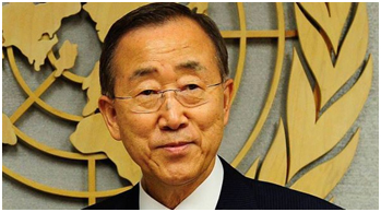 UN Secretary General Ban Ki Moon has been a consistent supporter of stronger partnerships between the religious community and UN agencies to ensure sustainable development. – Photo:  un.org