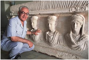 Khaled al-Asaad, Syria's treasured archeologist, was slain by ISIS. – Photo: Wikipedia