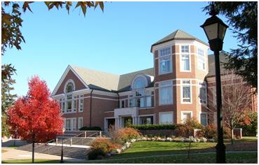 The new library at Elizabethtown College. – Photo:  etown.edu