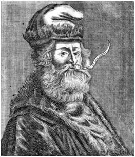 Ramon Llull (1232-1316) was a Franciscan writer, poet, theologian, mystic, mathematician, cosmologist, and logician. Once considered a heretic, he was beatified in 1857 by Pope Pius IX. – Photo: Wikipedia