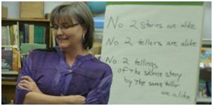 Pam Faro as a teacher