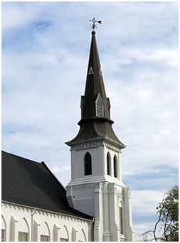 Emanuel African Methodist Episcopal Church, Charleston, South Carolina – Photo: Wikipedia